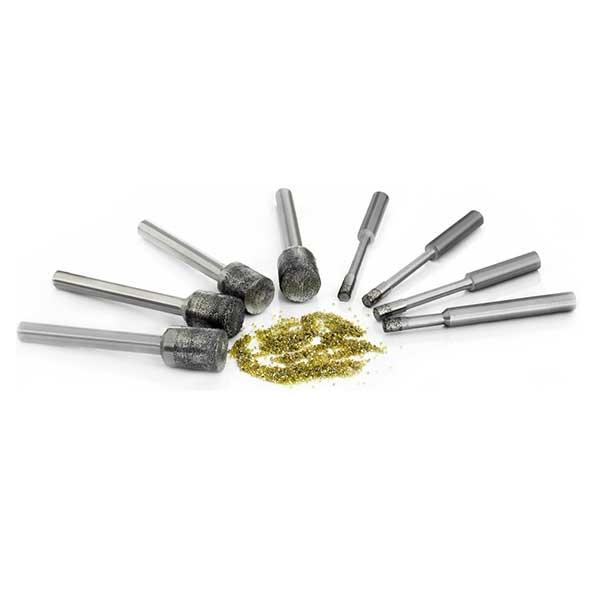 Diamond grinding bits (electroplated bond type)