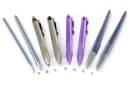 Diamond engraved scribers